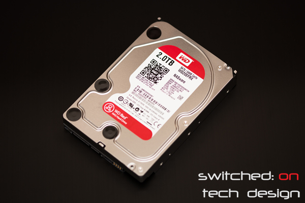 western digital 2tb red drive review wd20efrx switched on tech design. Black Bedroom Furniture Sets. Home Design Ideas
