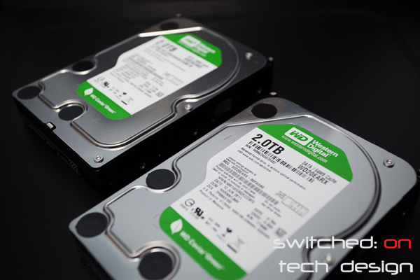 Western digital green drive resilver rates switched on for Zfs pool design