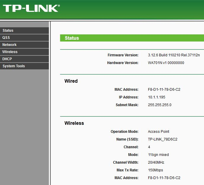 TP-Link TL-WA701ND review - Switched On Tech Design