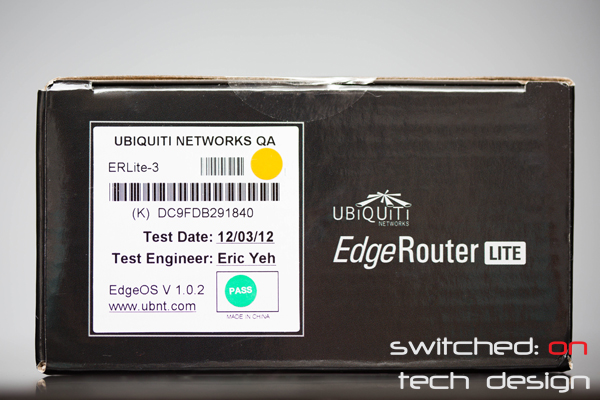 Ubiquiti EdgeRouter Lite Review: Part 1 - Switched On Tech