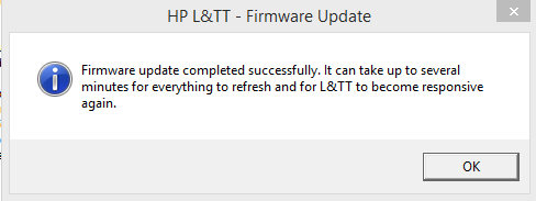 How to update the firmware of a HP tape drive - StorageWorks