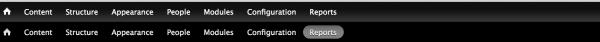 Drupal 7 - Two menus or toolbars