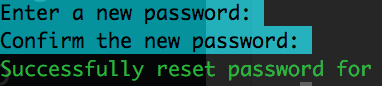 Owncloud Nine - How to reset the admin password
